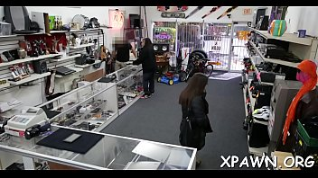Reality sex in the shop