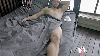 Gay men sleeping naked How does night male erection by naked men in bed happen