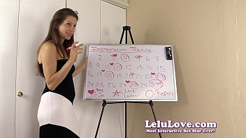 To get me pregnant follow this impregnation training schedule