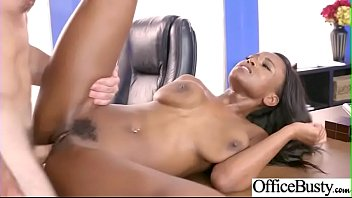 Bigtits Horny Office Girl (Jezabel Vessir) Like Hardcore Sex Action video-10
