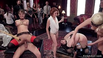 Swingers party bdsm caning e porra