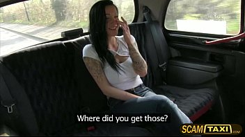 Sexy Chantelle gets fucked in the cab