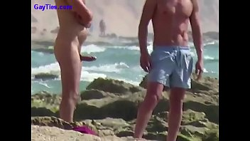 Gay naked outdoors exhibitionists Big boner on a russian beach