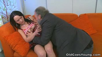 Old Goes Young - She loves having sex with old guy