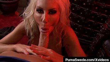 Nordic Nympho Puma Swede Plugs Her Pretty Piehole With Cock!