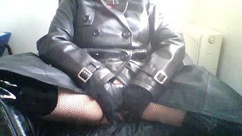 Cum in Leather