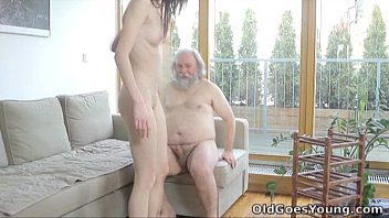 Mature masculine men Old goes young - alina didnt think old men could satisfy her