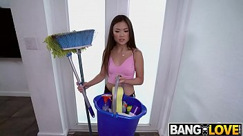 Lulu Chu, Here To Clean Your Cock