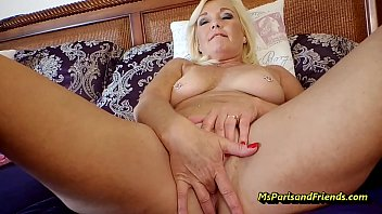 Mommy Masturbates as Her Sons Watch