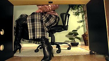 Sexy desk wallpaper uk Secretary with boots under desk masturbation video