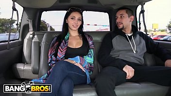 BANGBROS - Crystal Rae Getting Her Big Ass Fucked On The Bang Bus