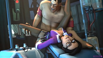 Miss Pauling x Medic - Team Fortress 2 (with sound)
