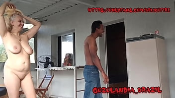 Backstage of the first scene of Stellastill sp with rookie Chris ferrel camera Wizard Fire !!! Full Video On Xvideos Red