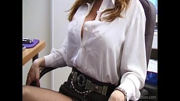Busty Secretary Lusts For Cock In The Office thumbnail