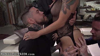 Slutty Malena Nazionale Has The Anal Gangbang Of Her Life