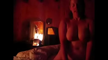 Thick Chubby MILF rides cock in cabin