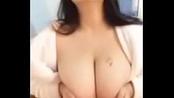 Big Tits Chinese Girl Teasing Boobs