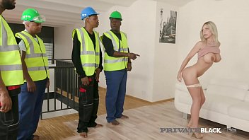 PrivateBlack - 5 Black Cock Gangbang With Nathaly Cherie!