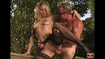 Naughty blonde giving to the businessman