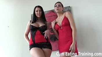 Forced to lick video You have to lick up every last drop of cum cei