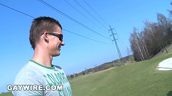 Gaywire - Bareback Sex On The Golf Course With Mark Brown & Franc Zambo