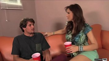 Syren De Mer is a nasty cougar who desires a young college guy with a big cock! 10 min