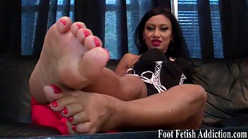 Fetish foot foot licking sole Get on your knees and worship my feet