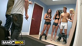 BANGBROS - Banging Audition w/ Courtney Taylor, Brittany Banxxx & Giselle Leon