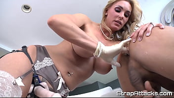 Bigtits milf dominates and fingers her sub