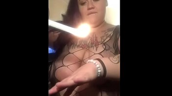 Streaming Video Miss-E uses Candle Wax - XLXX.video