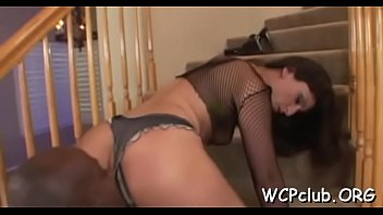 Stare at very sex appeal babe getting drilled hard on camera