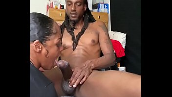 Nast Neighbor Gets the Pussy Cream and Tha Cum Off My Dick!