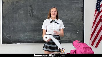 InnocentHigh - Naughty New Student (Molly Manson) Gets Banged 8 min