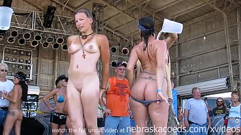 Real public naked Real housewives and girlfriends of iowa biker dudes