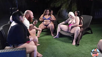 Big Booty PAWG Betty Bang Uses Her Strapon During BBW Orgy 14 min