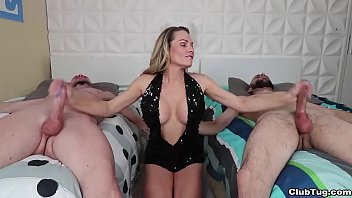 Female squirt male facials Clubtug-handjob contest