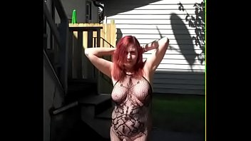 Redhot Redhead Show 8-8-2017 (Caught in Public 3 Times!)