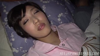 S. Japanese Wife With Natural Tits Gives Lusty Blowjob In Pov