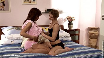 Naughty Sleepover with Ally and Britta from Sapphic Erotica