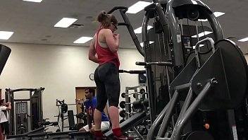 Thick White Girls Working Out