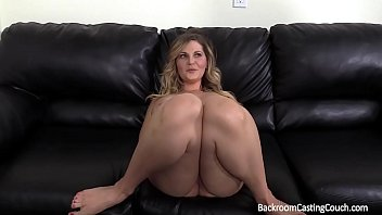 Big tits milf fucked in the ass on casting couch porn image