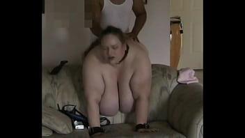 TJ Cumming Huge Tits Hanging over the Couch