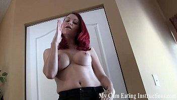I want to see you cum in your own mouth CEI