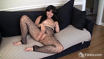 Asian Hermine Toying Her Hairy Pussy 6 min