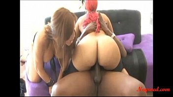 Black pinky xxx Negroed.com 2 fat spanish girl share big black negro cock and swllow cum