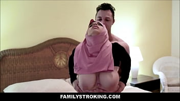 Thick Big Ass Virgin Muslim Teen Step Daughter Ella Knox Has Sex With Step Dad After He Accidentally Mistakes Her For Her Mom