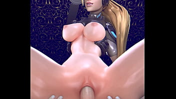 Honeiphone streaming hentai - Widowmaker nova find her place on a big hot dick