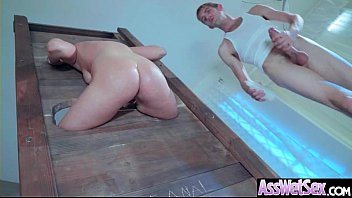 Deep Anal Sex On Tape With Big Curvy Ass Horny Girl (Kate England) vid-28
