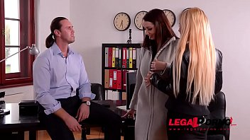 Kyra Hot & Lucie Wilde Are Horny AF & Crave Loads Of Cum Over Big Titties GP094