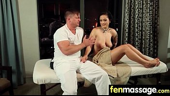 Sexy Masseuse Helps with Happy Ending 29